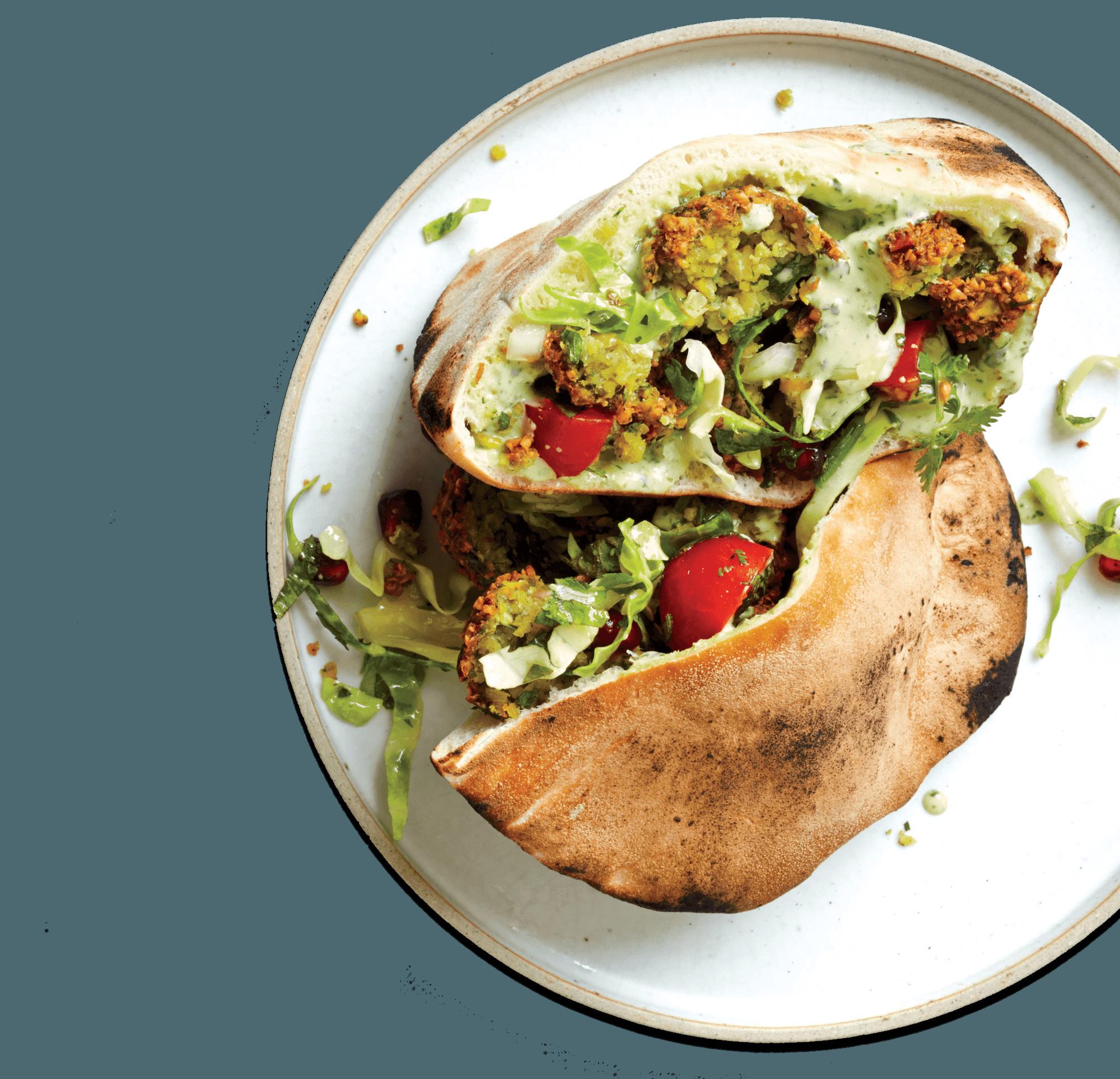 Street food plate